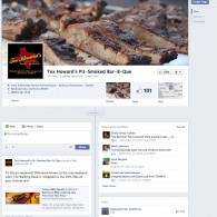 Tex Howard's Pit-Smoked Bar-B-Que Facebook Page